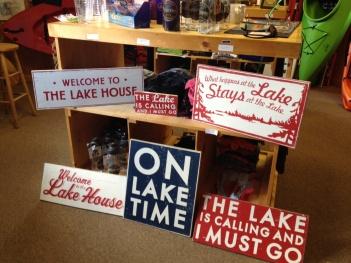 Lake House Signs