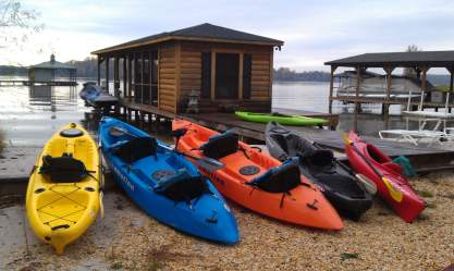November 4 - Kayak Rentals